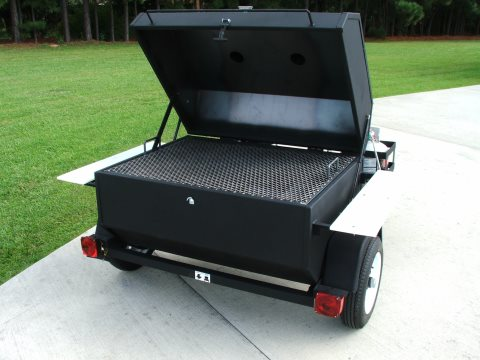 custom built bbq grills