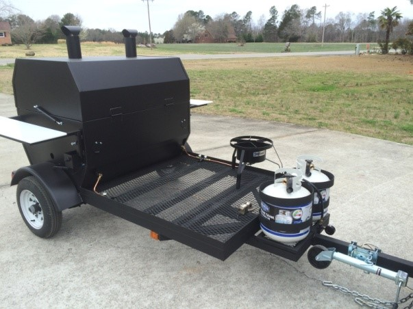 36x60 Pull-behind-Propane-Grill