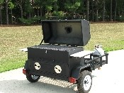 GC7 - 30 x 48 Pull behind Combo Grill